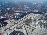 Westover Arb/metropolitan Airport (CEF) - Aerial View looking south-east - by unknown