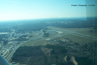 Pitt-greenville Airport (PGV) - Wing shot from a 172RG - by J.B. Barbour