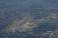 Orlando Sanford International Airport (SFB) - Orlando Sanford Airport shortly after take off from MCO - by Florida Metal