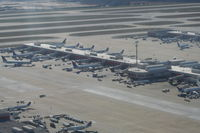 Hartsfield - Jackson Atlanta International Airport (ATL) - Terminal B at ATL - by Florida Metal