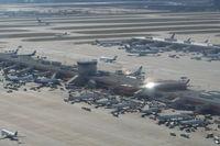 Hartsfield - Jackson Atlanta International Airport (ATL) - Terminal C at ATL - by Florida Metal