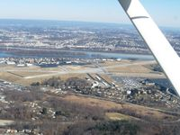 Capital City Airport (CXY) - Looking east - by Bob Simmermon