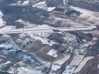 Washington County Airport (AFJ) - Washington, PA from 6500' - by Bob Simmermon