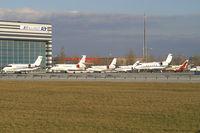 Vienna International Airport, Vienna Austria (VIE) - airport overview VIE-General Aviation - by Thomas Ramgraber-VAP