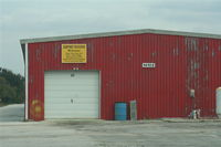 Airport Manatee Airport (48X) - hangar at Airport Manatee - by Florida Metal
