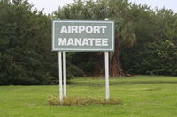 Airport Manatee Airport (48X) - Didn't know manatees could fly - by Florida Metal