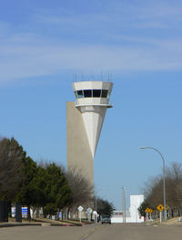 Fort Worth Alliance Airport (AFW) - Control Tower at Alliance Fort Worth - by Zane Adams