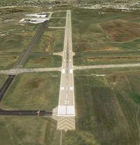 Bismarck Municipal Airport (BIS) - BIS Runway 31 - by Joe Zirbes