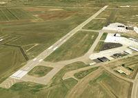 Bismarck Municipal Airport (BIS) - BIS Runway 13 - by Joe Zirbes