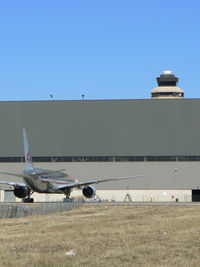 Dallas/fort Worth International Airport (DFW) - American Airlines 757 - at DFW Maintenance Hanger - by Zane Adams