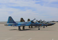Fort Worth Alliance Airport (AFW) - Ramp full of Marine Agressors - VFMT-401 - by Zane Adams