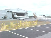 Auburn/lewiston Municipal Airport (LEW) - Silverwings Aviation FBO East Ramp - by BobAviator maineaviator.com