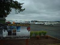Arlington Municipal Airport (AWO) - History - by B.Pine