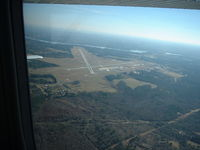 East Texas Regional Airport (GGG) - From the Air - by B.Pine