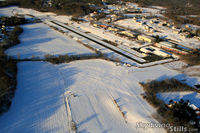 Ellington Airport (7B9) - Ellington Winter aerial - by Dave G