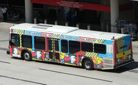Fort Lauderdale/hollywood International Airport (FLL) - The dedicated Bus transport at Ft Lauderdale Int - by Terry Fletcher