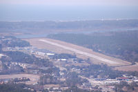 Cape Fear Regional Jetport/howie Franklin Fld Airport (SUT) - Base leg of Rwy 23 at SUT - by Kevin Williams