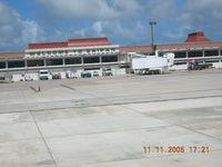 Saipan International Airport (Francisco C. Ada) - Main Terminal at Saipan - by John J. Boling