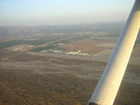 Redlands Municipal Airport (REI) - Right Downwind Rwy 26 - by COOL LAST SAMURAI
