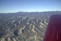 Los Alamos Airport (LAM) - Southbound over the valley looking to the west - by K Gross