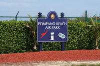 Pompano Beach Airpark Airport (PMP) - Pompano Beach Airport - by Florida Metal