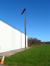 Silver Creek Airport (NC52) - A very colorful day led to this picture of the windsock. - by Bradley Bormuth