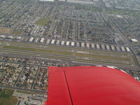 Compton/woodley Airport (CPM) - Compton Airport Rwy7L Downwind - by COOL LAST SAMURAI
