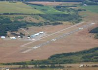 Little Falls/morrison County-lindbergh Fld Airport (LXL) - looking to the east - by Timothy Aanerud