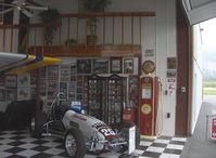 Santa Paula Airport (SZP) - In the Dewey Aviation Museum Hangar - by Doug Robertson
