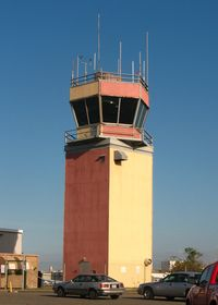 Fernando Luis Ribas Dominicci Airport (SIG) - Control Tower - by Timothy Aanerud