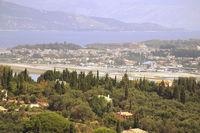 Ioannis Kapodistrias International Airport, Corfu (Kerkyra, Kerkira) Greece (CFU) - Taken from the Achilleon - by Andy Graf-VAP