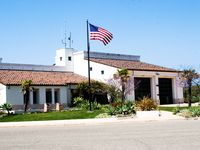 Santa Barbara Municipal Airport (SBA) - Santa Barbara Fire Station - by Mike Madrid