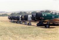 Denton Municipal Airport (DTO) - Tora Tora Tora flight line at Denton CAF show - by Zane Adams