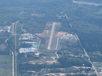Greene County Regional Airport (3J7) - Looking E from 6000' - by Bob Simmermon