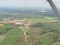 Jackson County Airport (19A) - Downwind for runway 16 - by Bob Simmermon