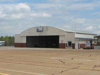 Jackson County Airport (19A) - Maintenance hanger - by Bob Simmermon