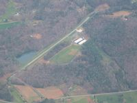Blue Ridge Skyport Airport (57GA) - Looking NE from 9000' - by Bob Simmermon