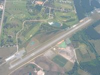 Bacon County Airport (AMG) - View from 6000' - by Bob Simmermon