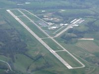 Mount Sterling-montgomery County Airport (IOB) - View from 6000' - by Bob Simmermon