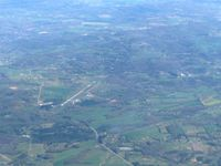 Mcminn County Airport (MMI) - Looking E from 9000' - by Bob Simmermon