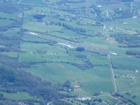 Monroe County Airport (MNV) - Looking E from 9000' - by Bob Simmermon