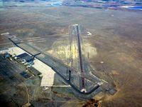 La Junta Municipal Airport (LHX) - La Junta airport shot from 7500MSL - by Victor Agababov