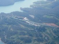 Deerfield Resort Airport (TN44) - Looking west from 6000' - by Bob Simmermon