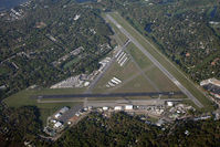 Malcolm Mc Kinnon Airport (SSI) - I took this photo as I returned from Sun-N-Fun 2008 in my Fairchild 24 (N28640).  I had stopped there on my way down to get gas. - by Bradley Bormuth