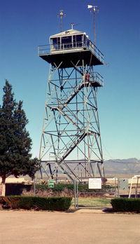 Kingman Airport (IGM) - Historic WWII Control Tower at Kingman AZ - by J.G. Handelman
