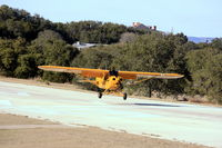 Lakeway Airpark Airport (3R9) - Cub landing on 16 - by Richard Mays