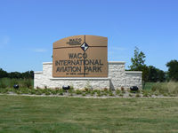 Tstc Waco Airport (CNW) - South entrance, off US Hwy 84, to TSTC airport ... former Connally AFB - by Zane Adams