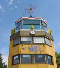 Flugplatz Freiburg Airfield Airport, Freiburg/Breisgau, Baden-Württemberg Germany (QFB) - Freiburg Control Tower - by J. Thoma