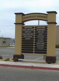 Camarillo Airport (CMA) - Camarillo Airport - by Doug Robertson