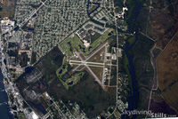 Sebastian Municipal Airport (X26) - Sebastian, FL as seen from 14,000 feet. - by Dave G
